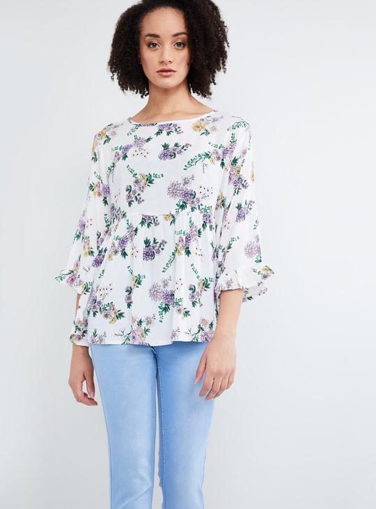 MAX Floral Print Blouse