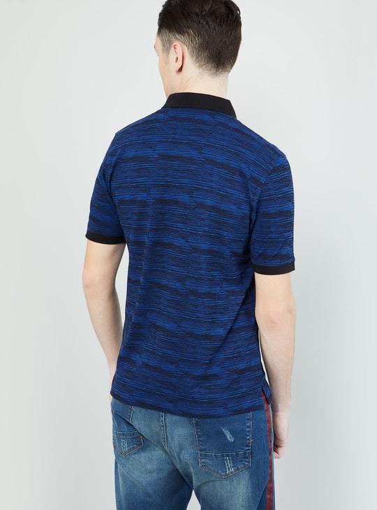 MAX Yarn-Dyed Polo T-shirt