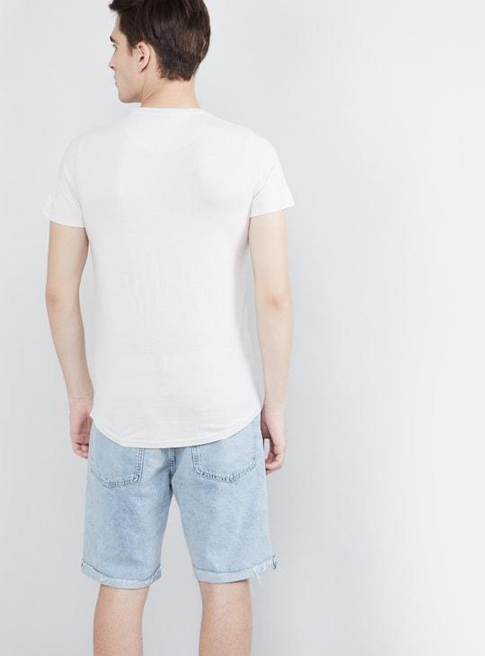 MAX Superhero Print Short Sleeves T-shirt
