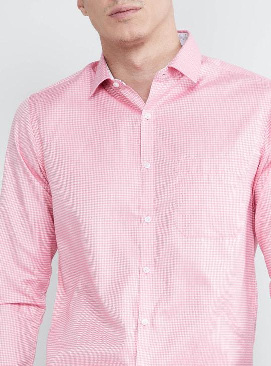 MAX Dobby Textured Full Sleeves Shirt