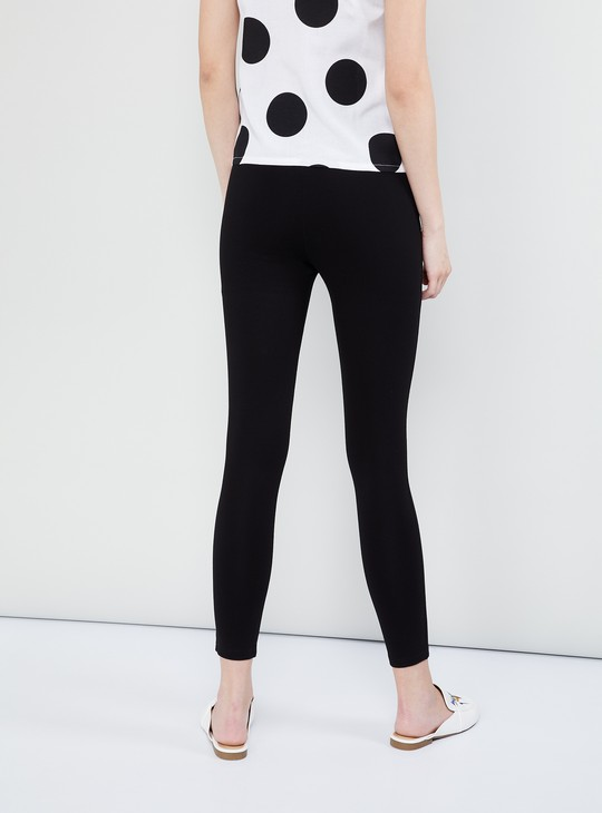 MAX Solid Ankle-Length Treggings