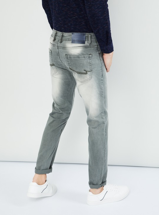 MAX Solid 5-Pocket Skinny Jeans