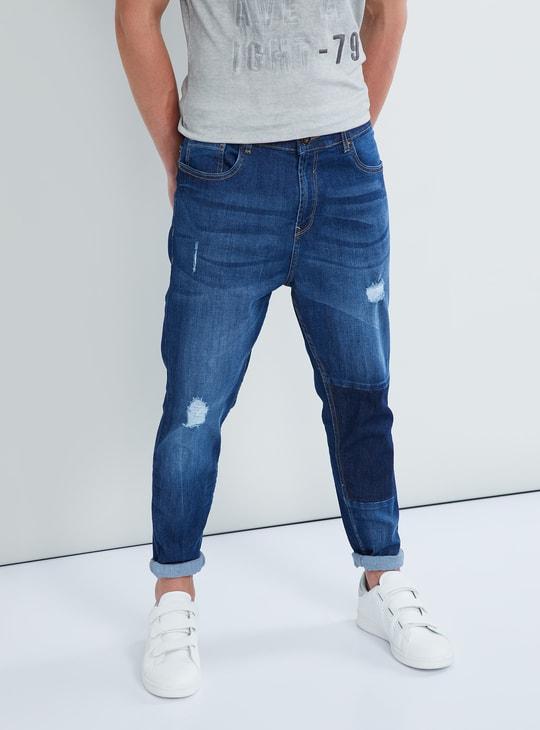 MAX Distressed Slim Fit Jeans