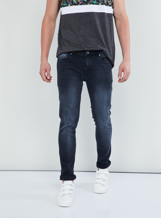 MAX Lightly Washed Skinny Jeans