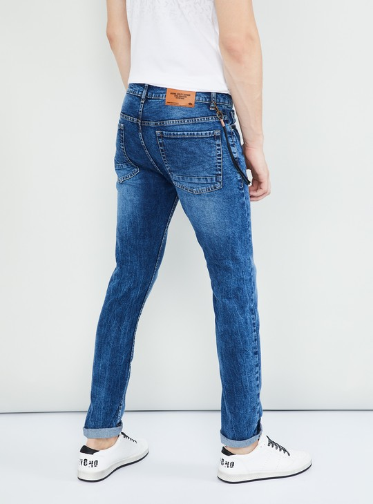 MAX Stonewashed Distressed Jeans