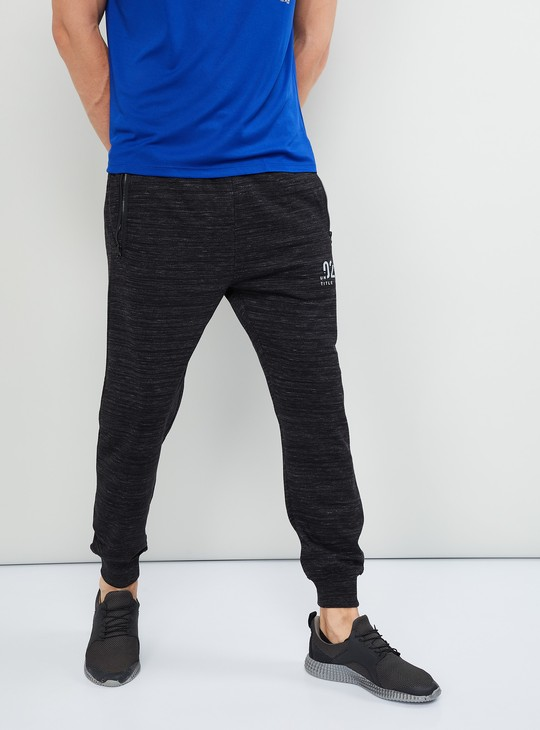 MAX Textured Regular Fit Joggers