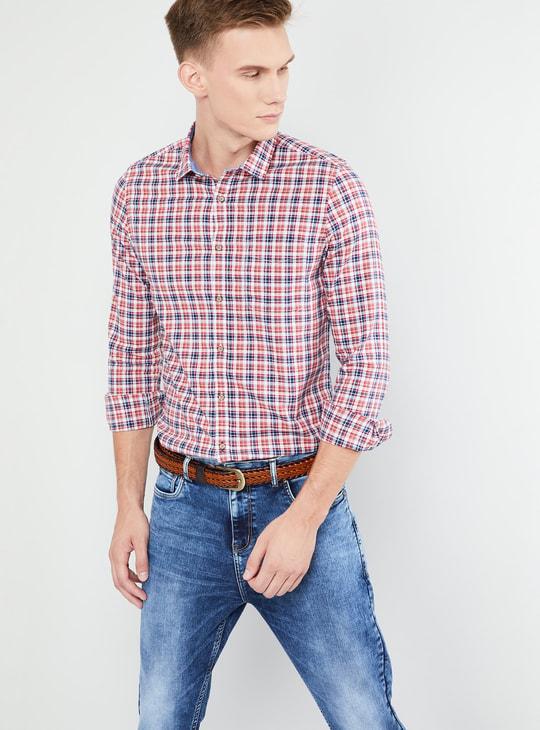MAX Checked Full Sleeves Regular Fit Shirt