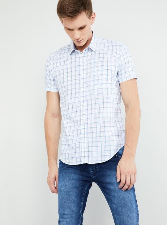 MAX Checked Short Sleeves Shirt