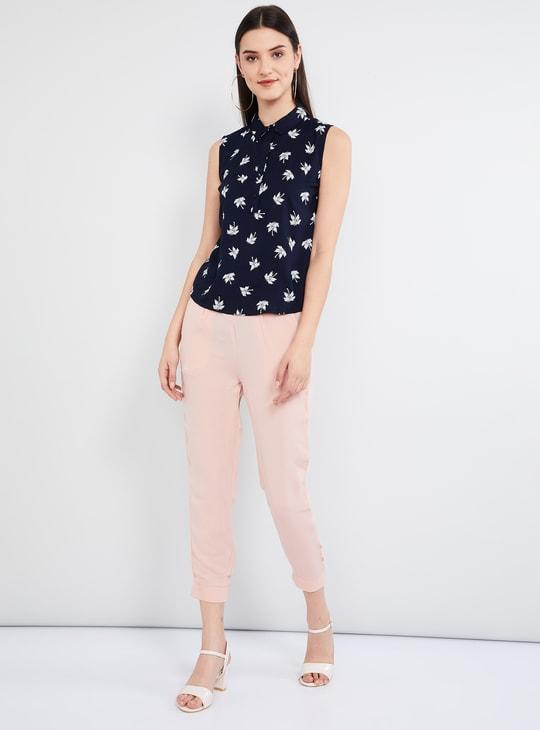MAX Printed Sleeveless Shirt
