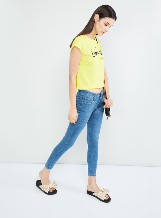 MAX Solid Low-Rise Jeans