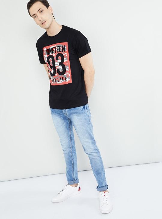 MAX Printed Slim Fit Crew Nec T-shirt