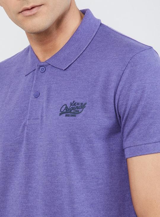 MAX Melange Polo T-shirt