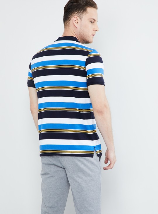 MAX Striped Short Sleeves Polo T-shirt