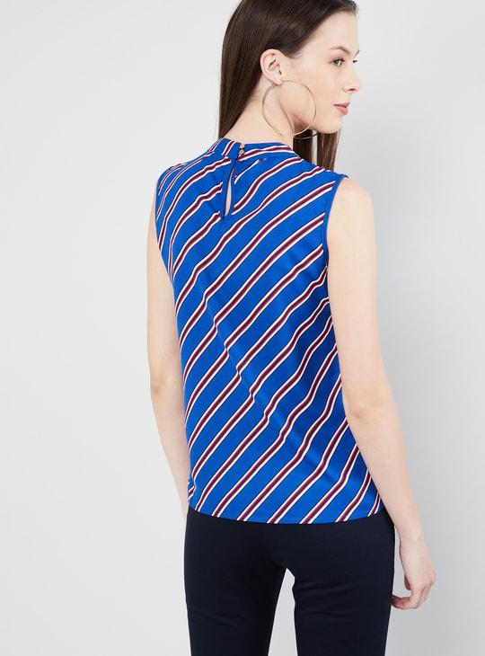 MAX Striped Sleeveless Top