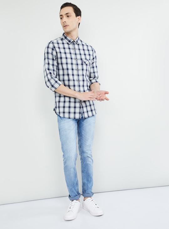 MAX Checked Slim Fit Regular Fit Shirt