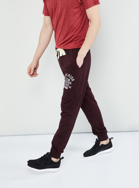 MAX Printed Knitted Training Joggers