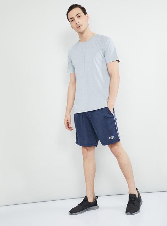 MAX Melange Tape Detail Knitted Shorts