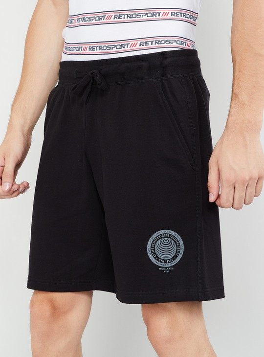 MAX Solid Elasticated Waist Regular Fit Shorts
