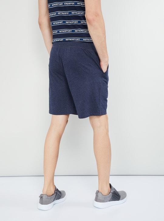 MAX Solid Elasticated Waist Regular Fit Shorts