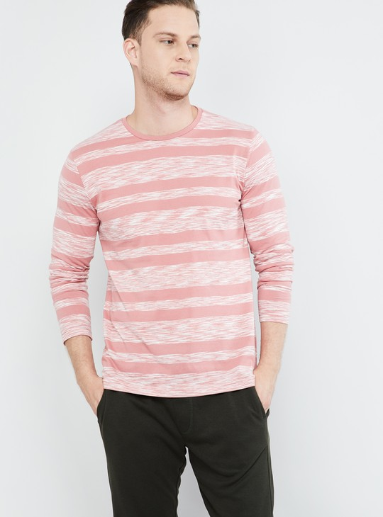 MAX Striped Long Sleeves T-shirt