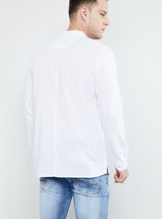 MAX Solid Cotton Short Kurta
