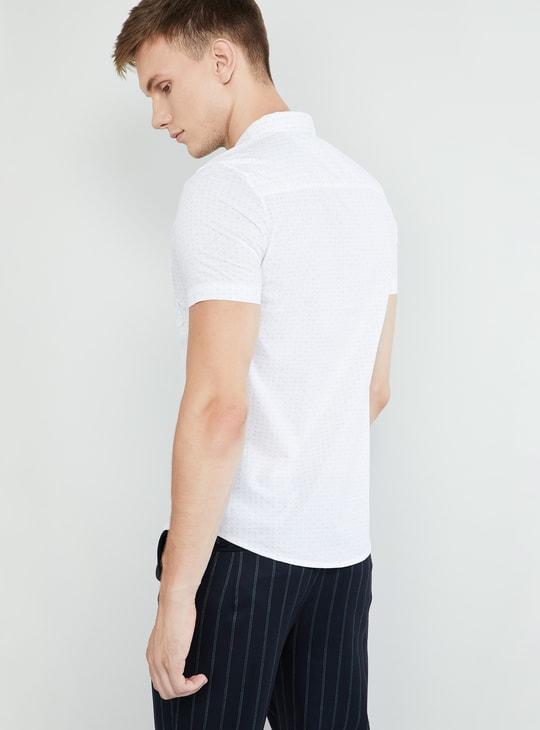 MAX Printed Short Sleeves Regular Fit Shirt