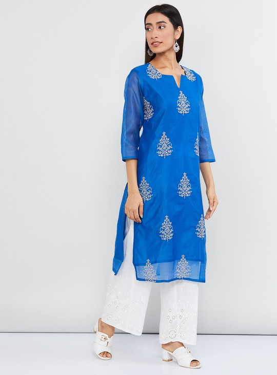 MAX Printed Striaght Kurta