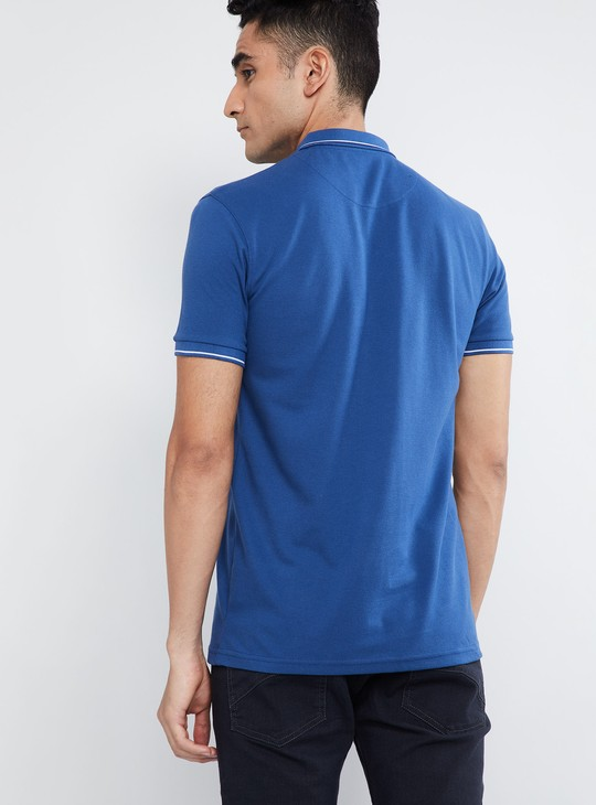 MAX Solid Welt Pocket Polo T-shirt