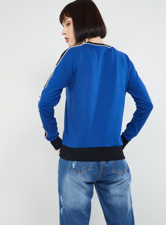 MAX Solid Full Sleeves Sweatshirt