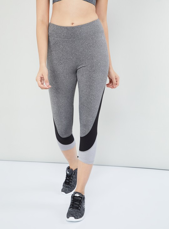 MAX Textured Panelled Tights