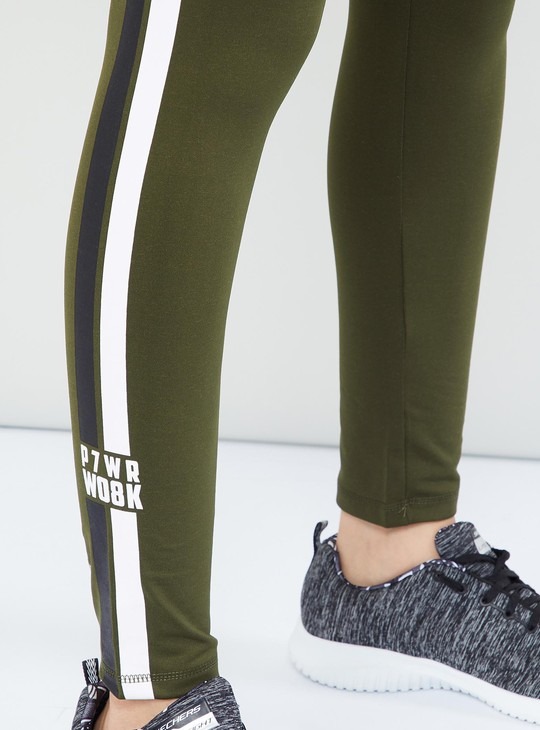 MAX Workout Pants with Contrast Side Tapings