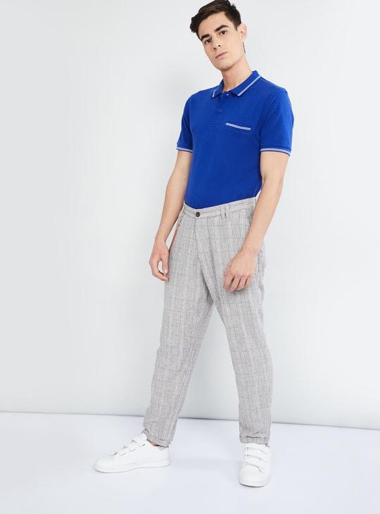 MAX Textured Polo T-shirt