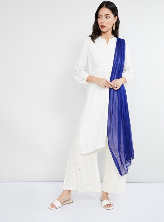 MAX Textured Dupatta with Beaded Edges