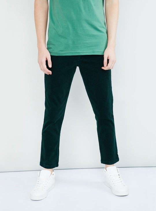 MAX Solid Corduroy Trouser
