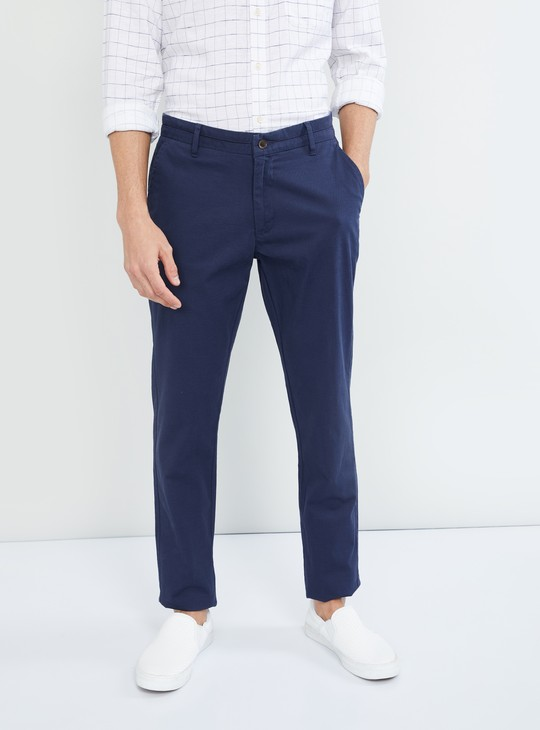 MAX Solid Low Rise Chinos