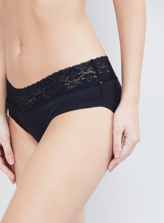 MAX Lace Hipster Panties - Pack of 2 Pcs.