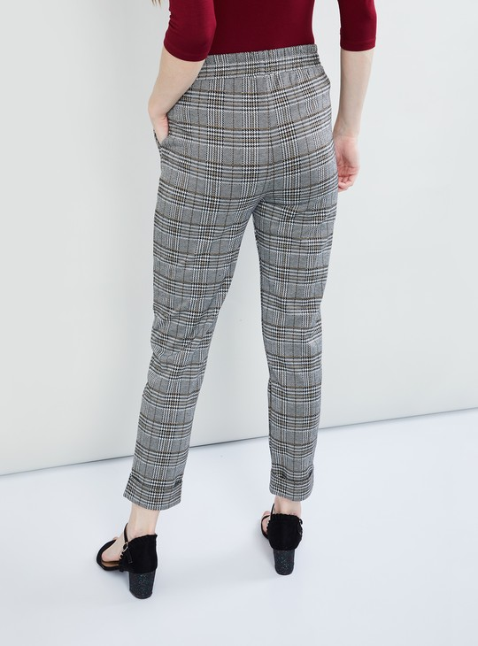 MAX Checked Elasticated Pants