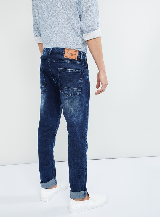 MAX Distressed Low Rise Skinny Fit Jeans