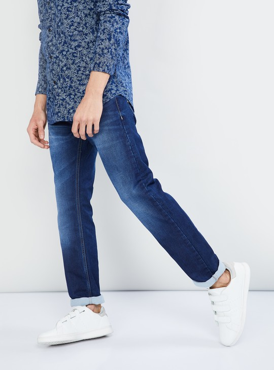 MAX Medium-Washed Slim Fit Jeans