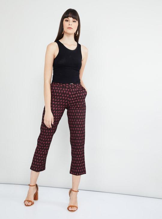 MAX Printed Cropped Pants