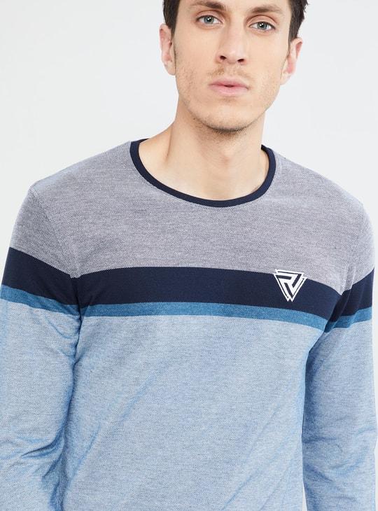 MAX Colourblocked Crew-Neck T-shirt