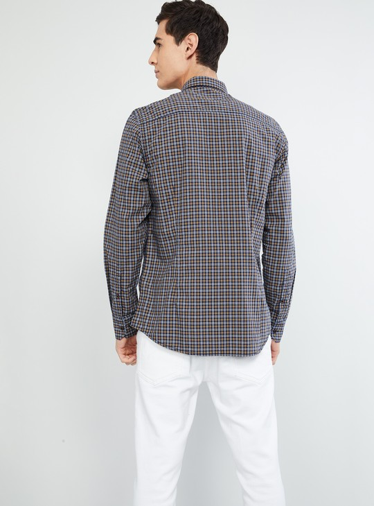 MAX Checked Full Sleeves Regular Fit Shirt