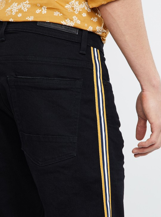 MAX Tape Detail Slim Fit Jeans