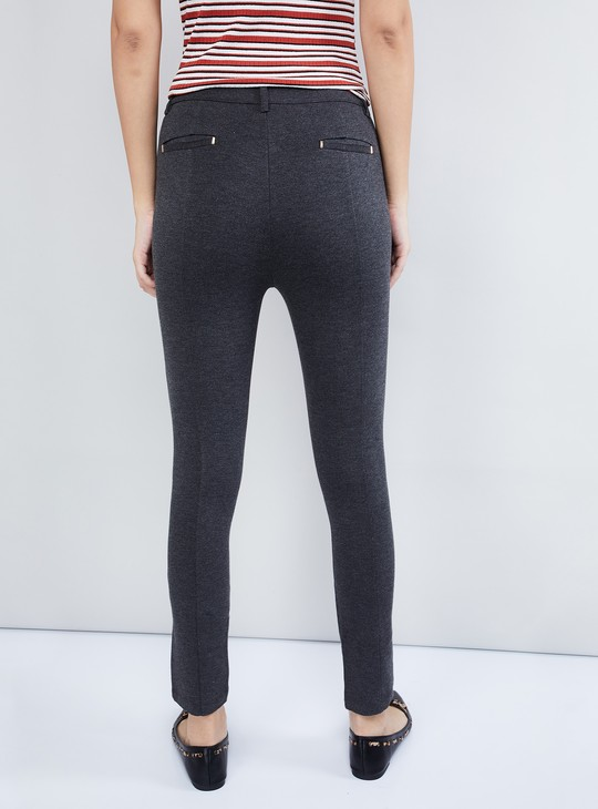 MAX Textured Knitted Trousers