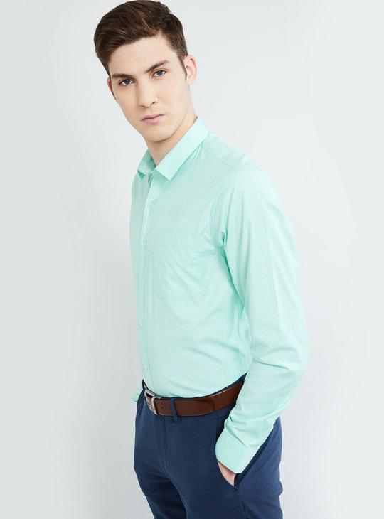 MAX Solid Regular Fit Formal Shirt