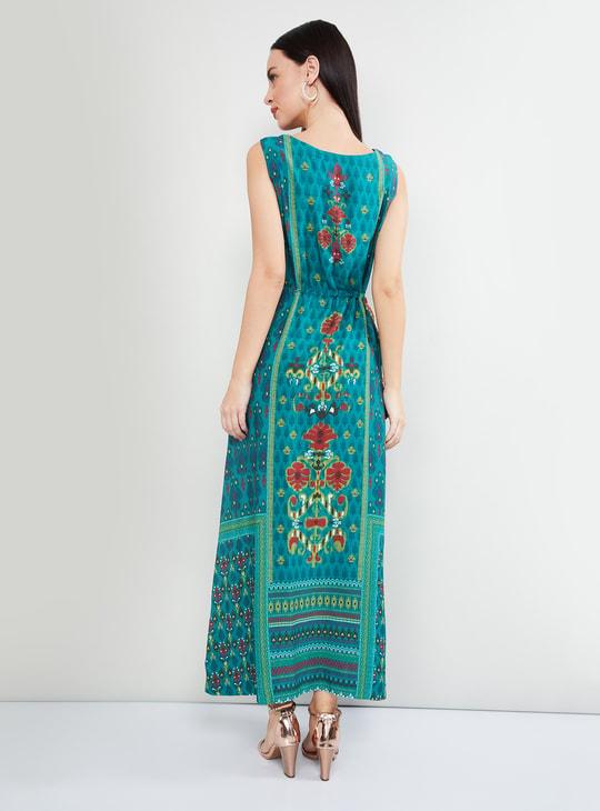 MAX Printed Maxi Dress
