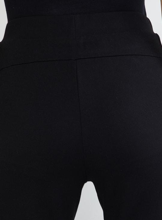 MAX Printed Panelled Slim Fit Treggings