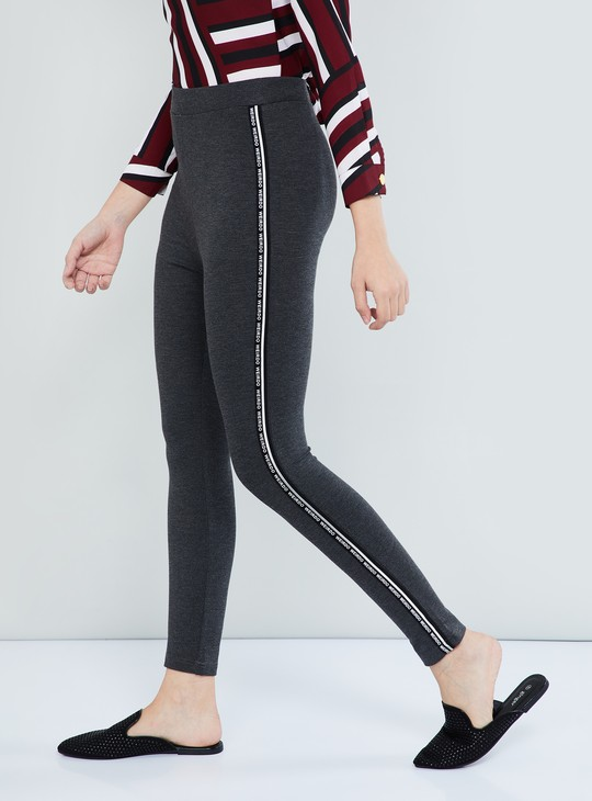 MAX Solid Knitted Trousers