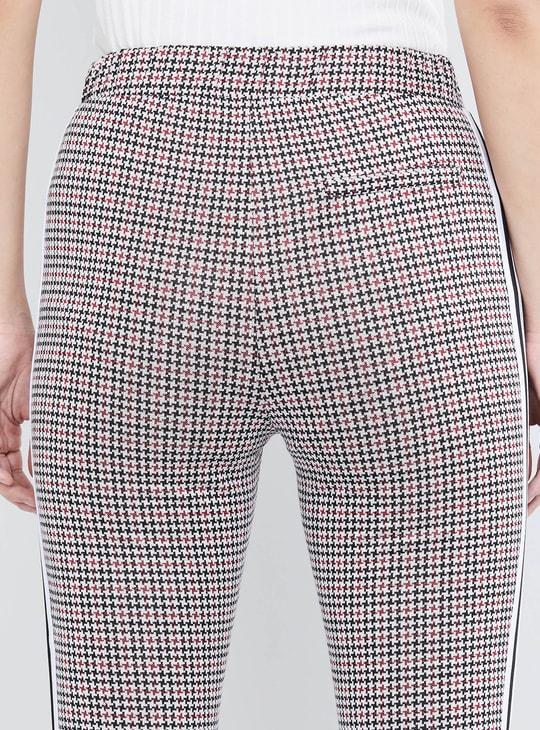 MAX Printed Cropped Slim Fit Treggings