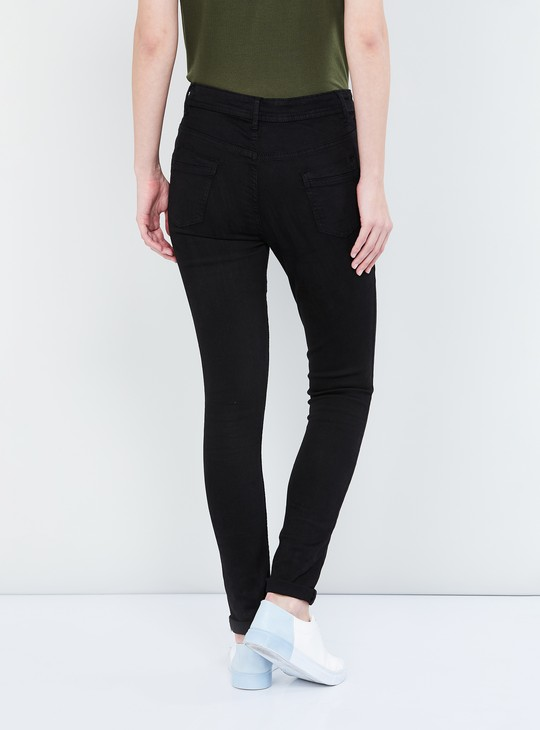 MAX Stonewashed Skinny Fit Jeans